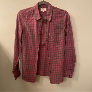 Levi's Tailored Fit Plaid Shirt